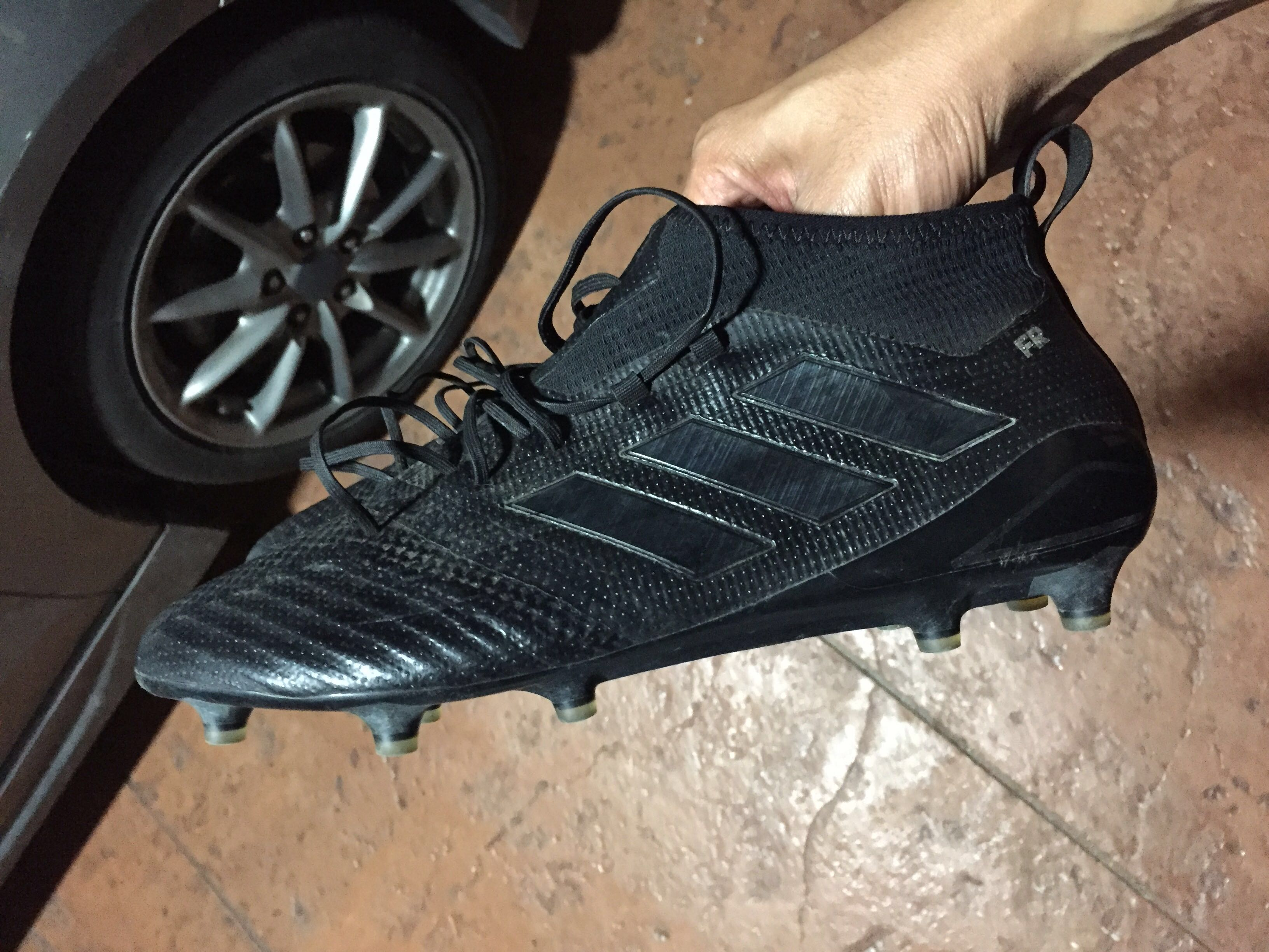 new products 58a75 938c1 Adidas Ace 17.1 Blackout, Men s Fashion, Footwear on Carousell