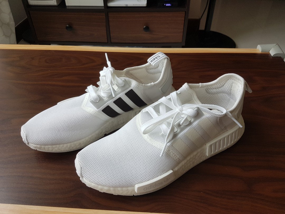 9174f9636dd3d Adidas 100% Authentic NMD R1 White