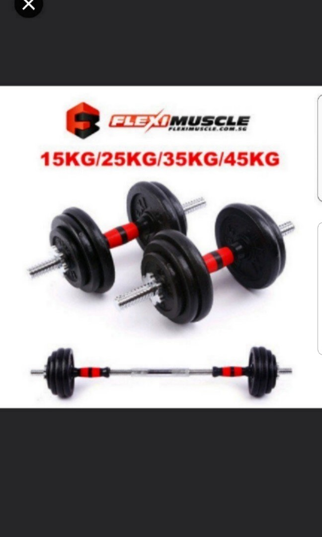 4ec4856572b Adjustable Cast Iron Dumbbell Set promotion price