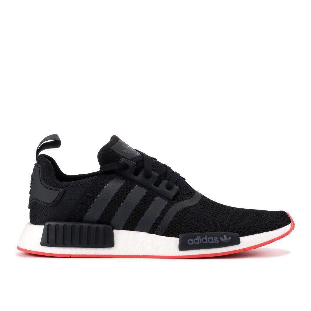 0272365f6f91e Authentic  Adidas NMD R1 Core Black US10