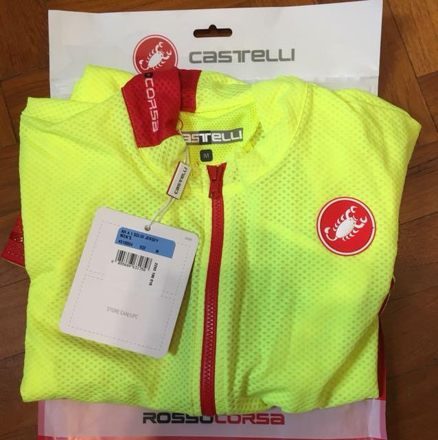 e581fb2bf BNIB Castelli Aero 4.1 Jersey Rosso Corsa