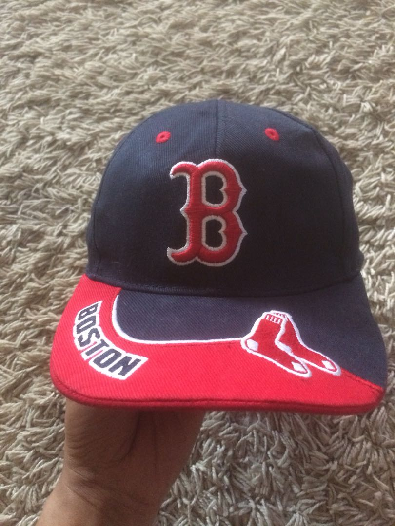 bbe8db25f8cb59 boston red sox, Men's Fashion, Accessories, Caps & Hats on Carousell