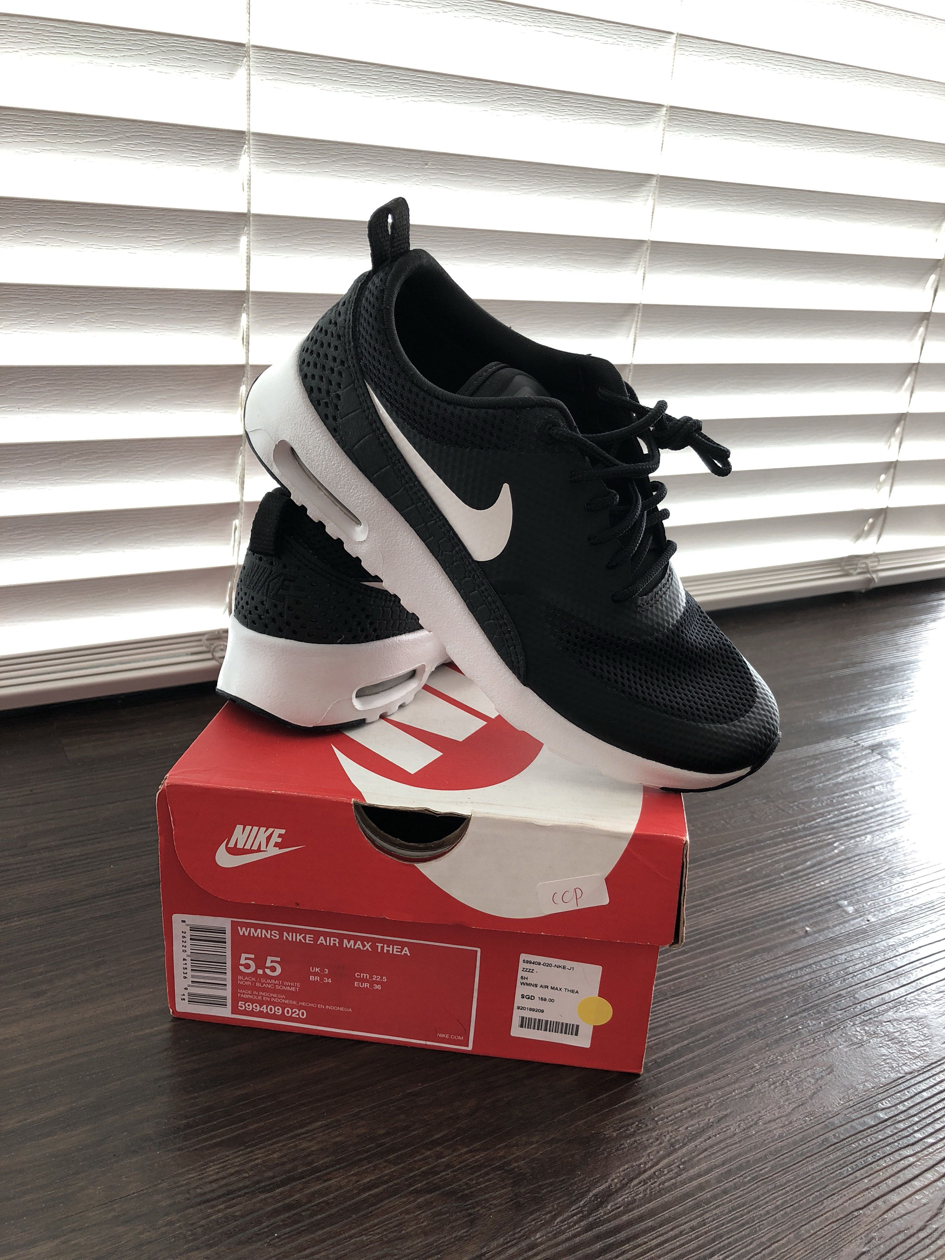 best website 918f5 b07ed BRAND NEW NIKE AIR MAX THEA, Women s Fashion, Shoes, Sneakers on ...