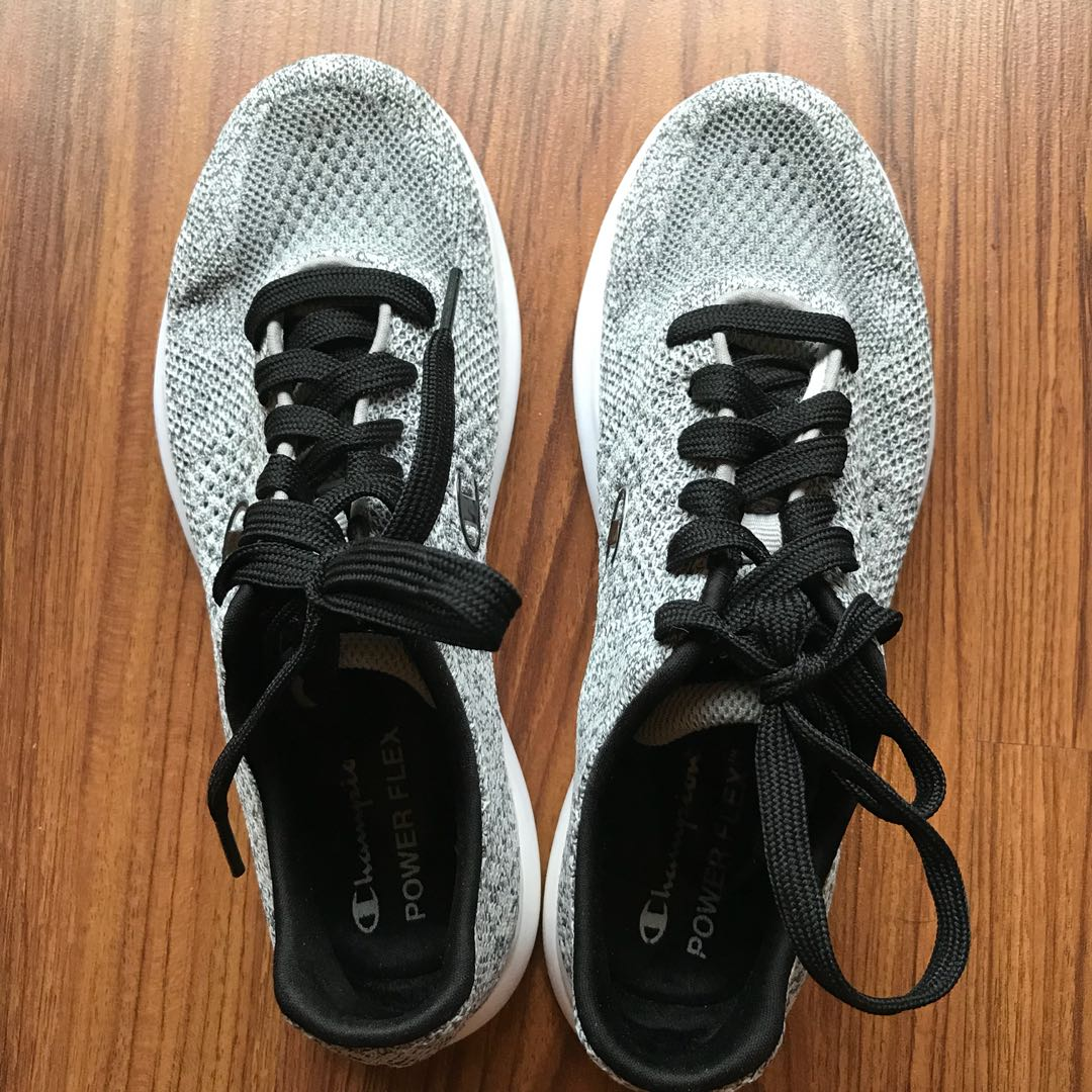 a73c5f111f402 Champion power flex gray running shoes