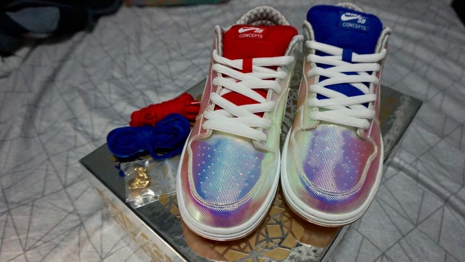 d119c0afd766 Concepts X Nike - Holy Grail Dunks