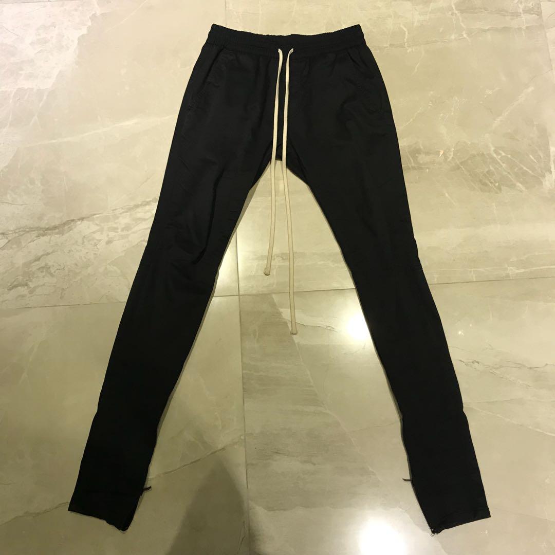 edc97a05 CLEARANCE] Fear Of God x Pacsun Drawstring Pants (BLACK), Men's ...