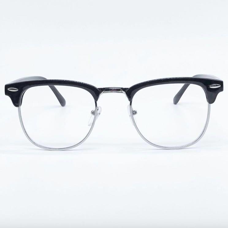 81d4c0e399a Free NM Black Clubmaster Glasses Specs Frame