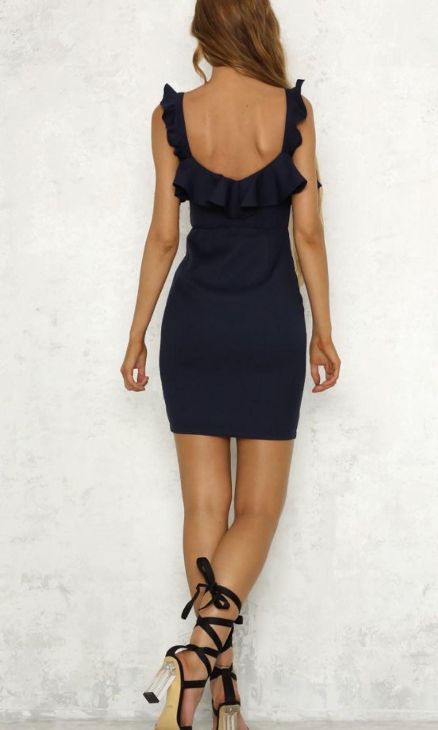Hello Molly - Gotta Have It Dress in Navy