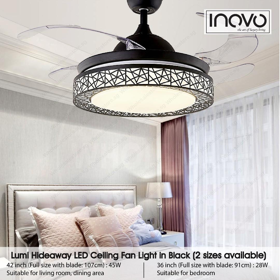 Hideaway Ceiling Fan Light Ceiling Light Kdk Fan Led Light