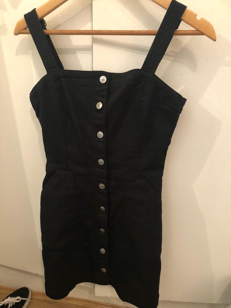 H&M button up dress