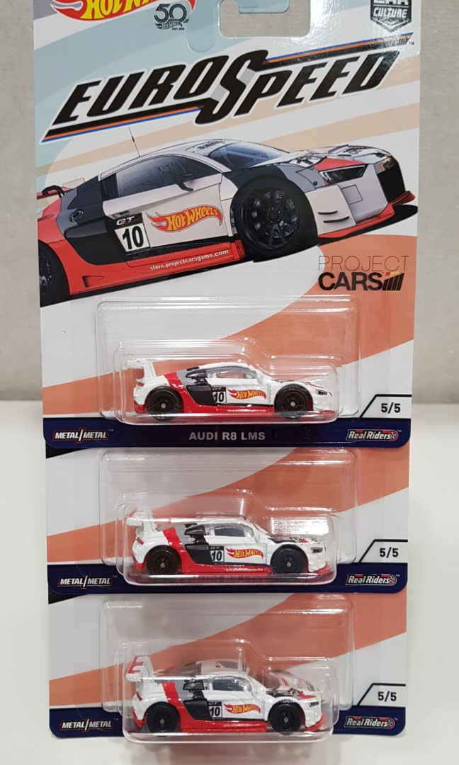 Hot Wheels Audi R8 Lms Toys Games Others On Carousell