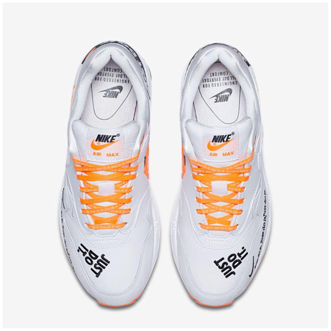 """buy online cdeb2 ff8b2 In Stock Womens Nike Air Max 1 LX """" JUST DO IT """" COLLECTIONUpdated Actual  Photos, Womens Fashion, Shoes, Sneakers on Carousell"""