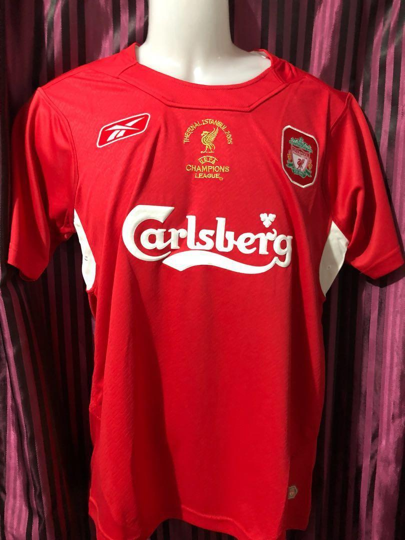 the latest 74db0 05676 Liverpool 2005 Champions League, Sports, Sports Apparel on ...