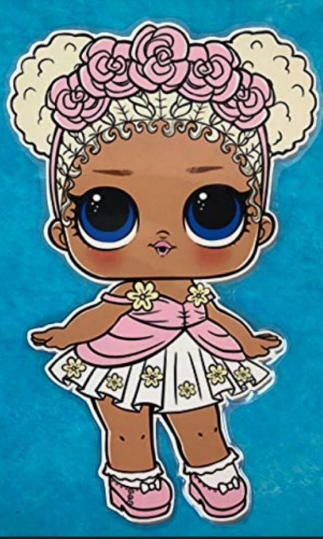 Lol Surprise Confetti Doll Series 3 - Flower Child CC ...