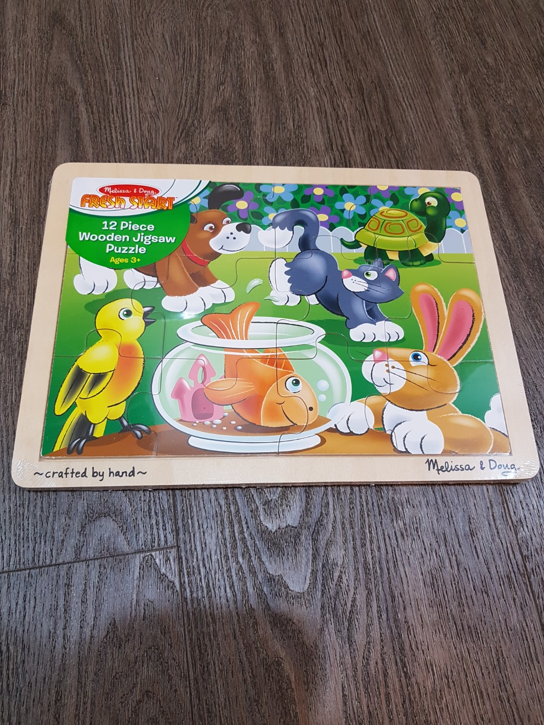 12cc2c705bb2 Melissa and Doug Pets Wooden Puzzle
