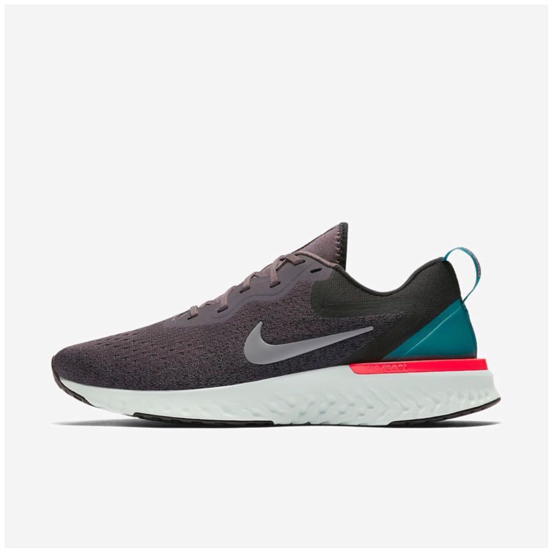 637ef639d2f0 Men s Nike Odyssey React Running Shoes-Gunsmoke
