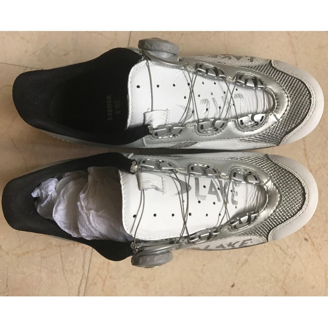 29d54141c New cycling shoes LAKE leather CX331-W Label size EU39.5   US8.5 ...