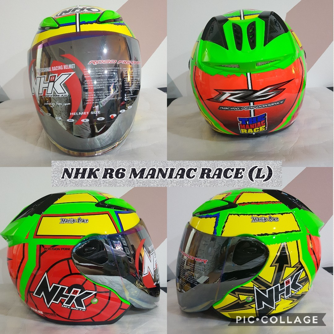 ce6d025c NHK Helmet, Motorbikes, Motorbike Apparel on Carousell