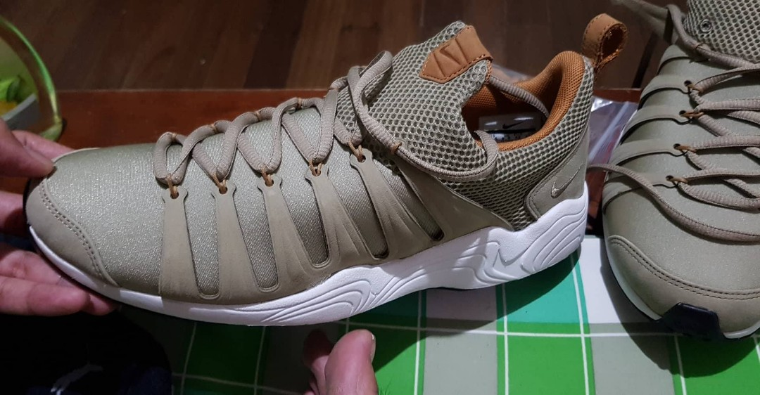 premium selection 71697 e1f23 Nike Air Zoom Spirimic Bamboo-White, Men s Fashion, Footwear on Carousell