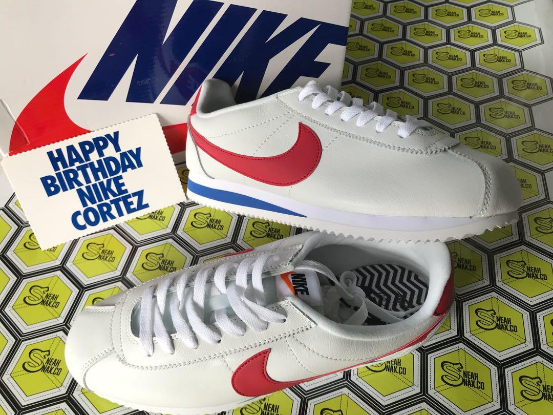 Nike Cortez Forrest Gump SE XLV Special Edition Preloved Fesyen Pria Sepatu Di Carousell