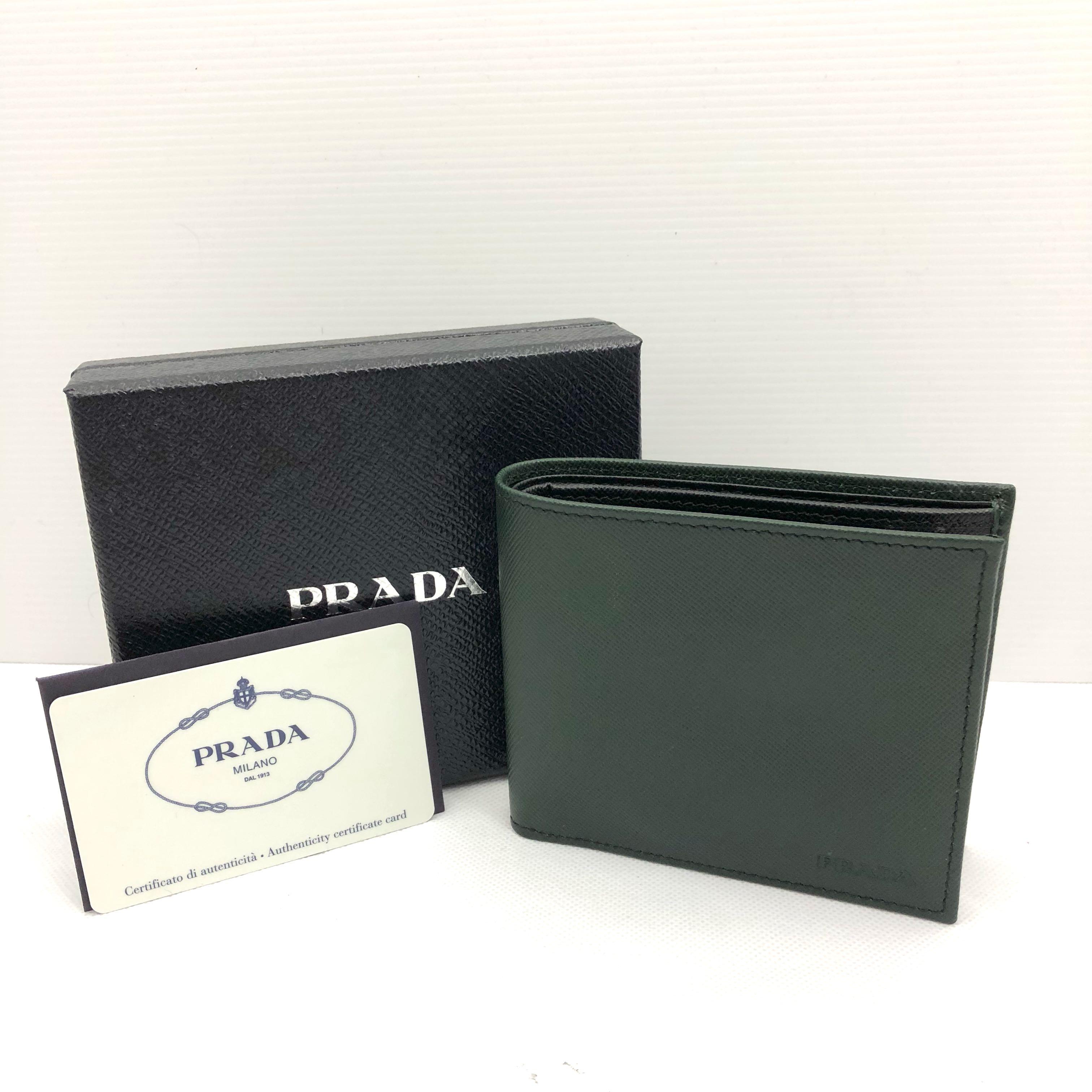 9cc643405dae 36c4e d69da; get prada mens wallet green 187002382 mens fashion bags  wallets wallets on carousell d615b 0acb6