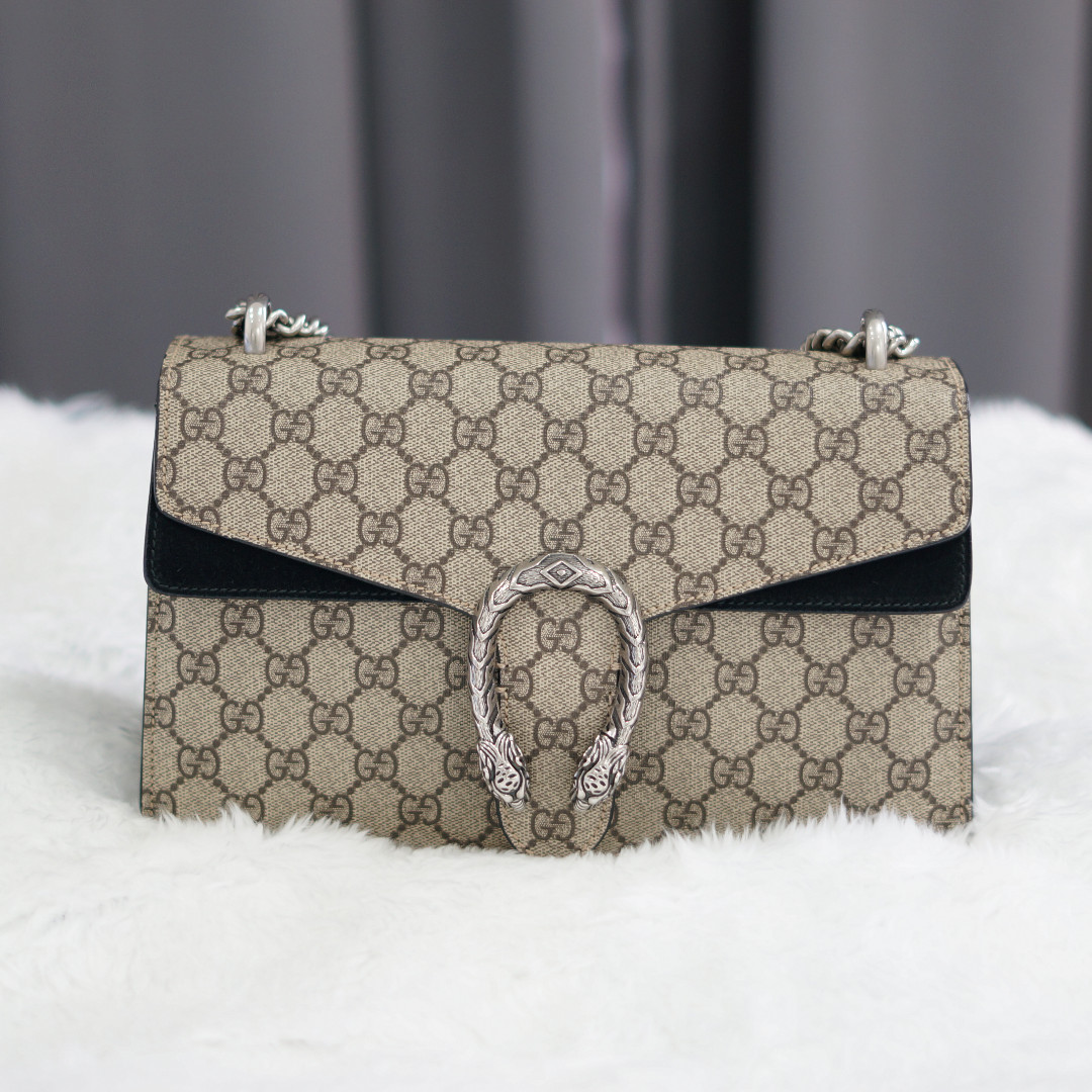 4576479465844c Pre-Loved: Authentic Gucci Dionysus GG, Luxury, Bags & Wallets ...