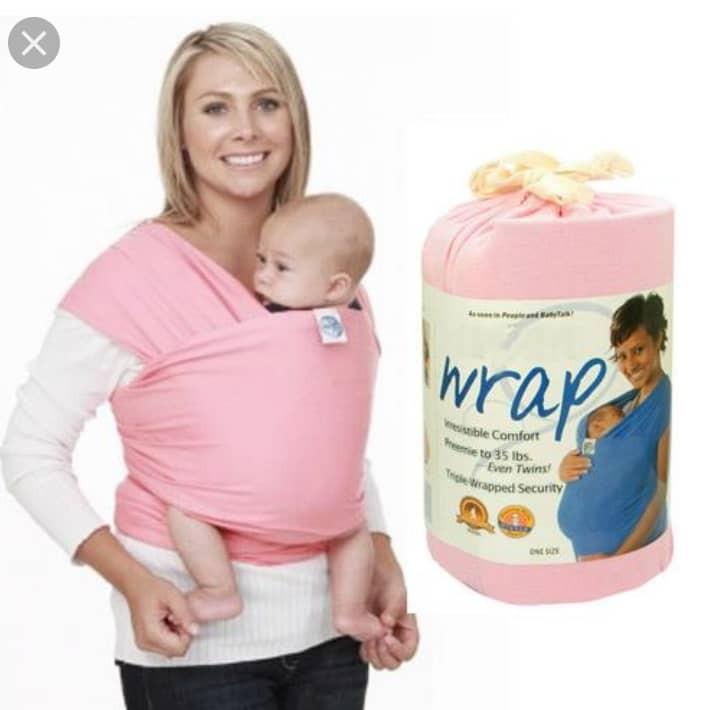 Preloved Moby Wrap Baby Carrier Bayi Kanak Kanak Lain Lain Di