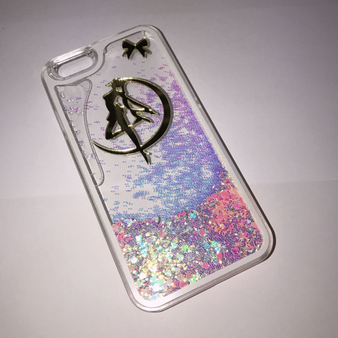 premium selection 0e5cb c0310 Sailor Moon Glitter Case