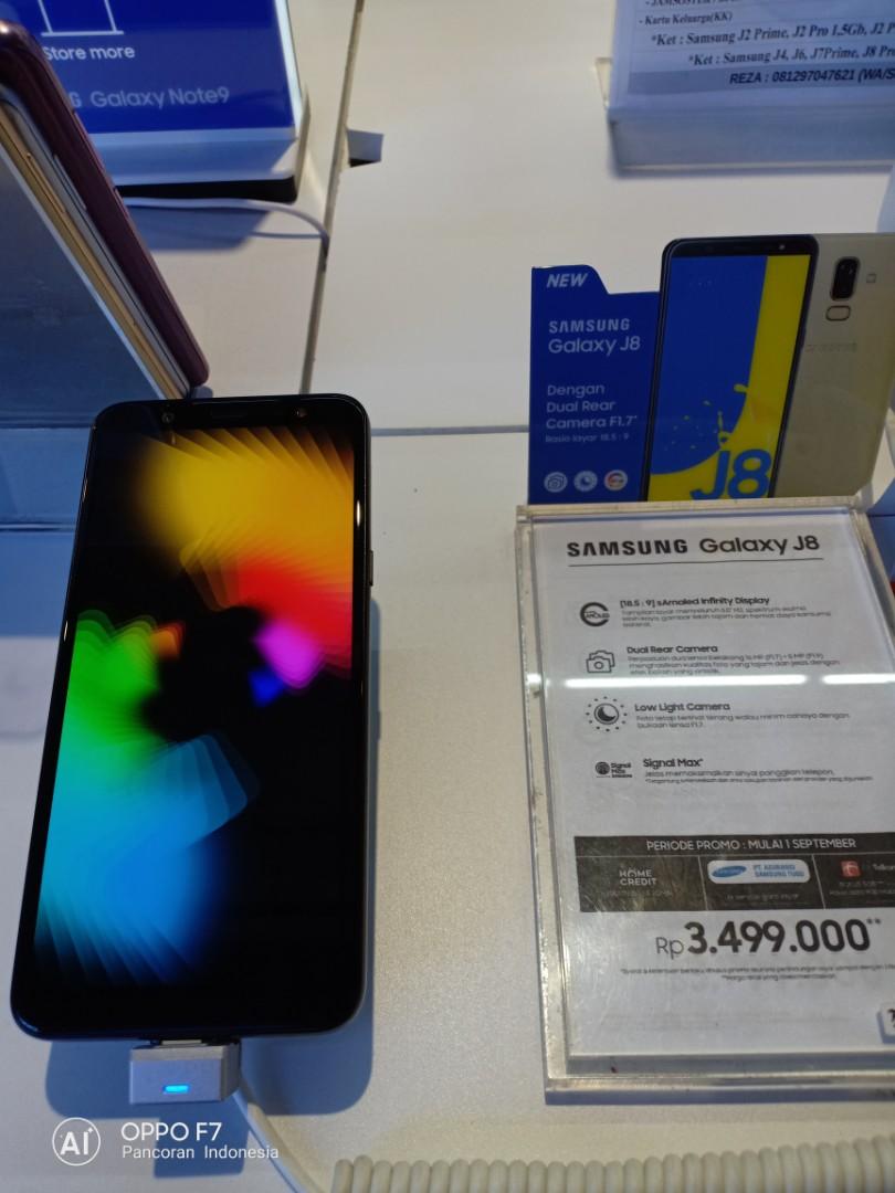 Samsung Galaxy J8 Bisa Cicilan Tanpa Kartu Kredit Telepon Seluler