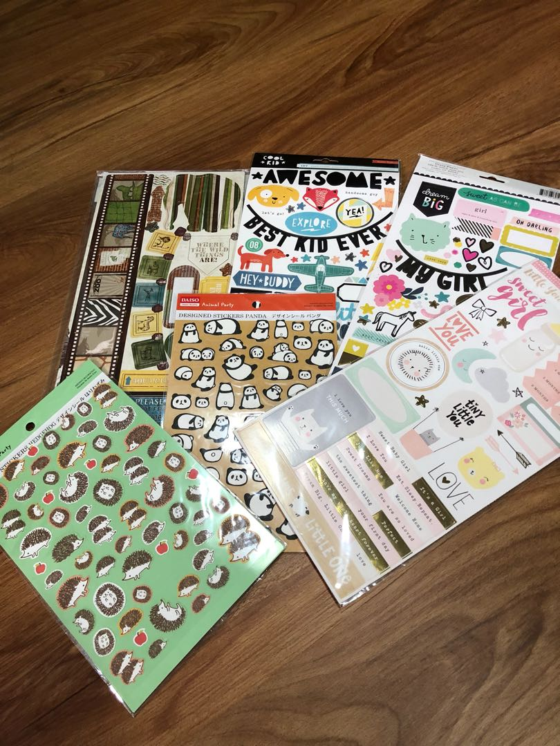 Scrapbook Aesthetic Stickers