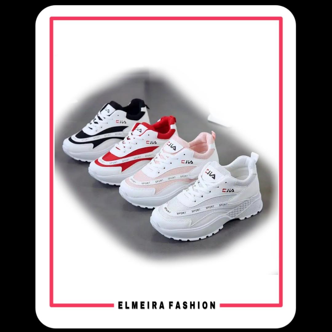 Sepatu Sneakers Fila Wanita Looking For On Carousell Love White