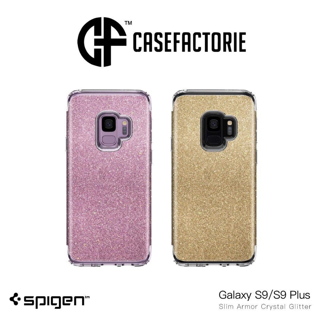 newest collection 39b0d bf8d2 Spigen Slim Armor Crystal Glitter Case for Galaxy S9/S9 Plus