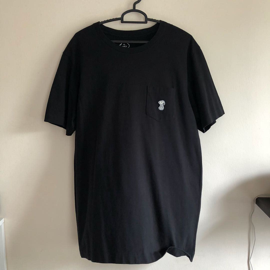 2194ae66 Uniqlo Snoopy X Kaws Tshirt, Men's Fashion, Clothes, Tops on Carousell