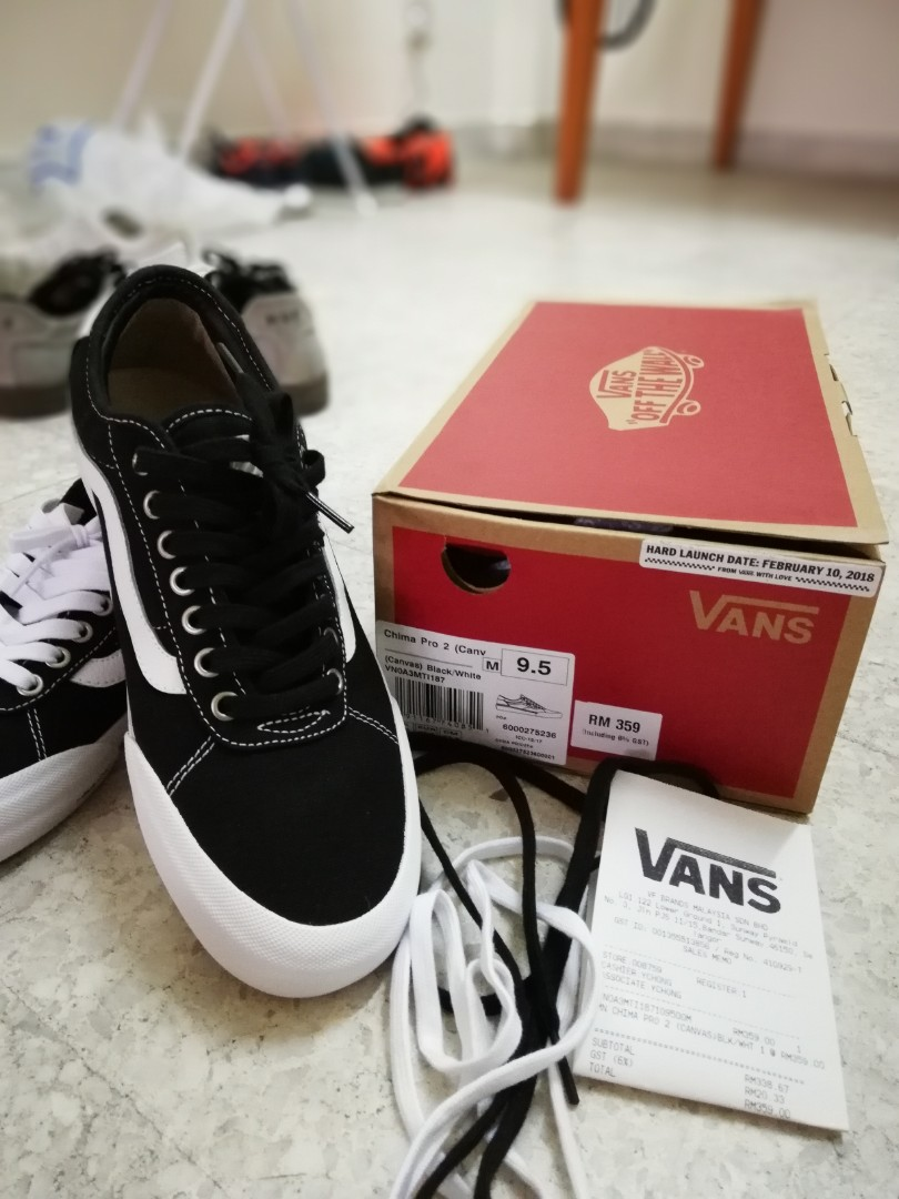 Vans Chima Pro 2 (Black) ad62d77aa