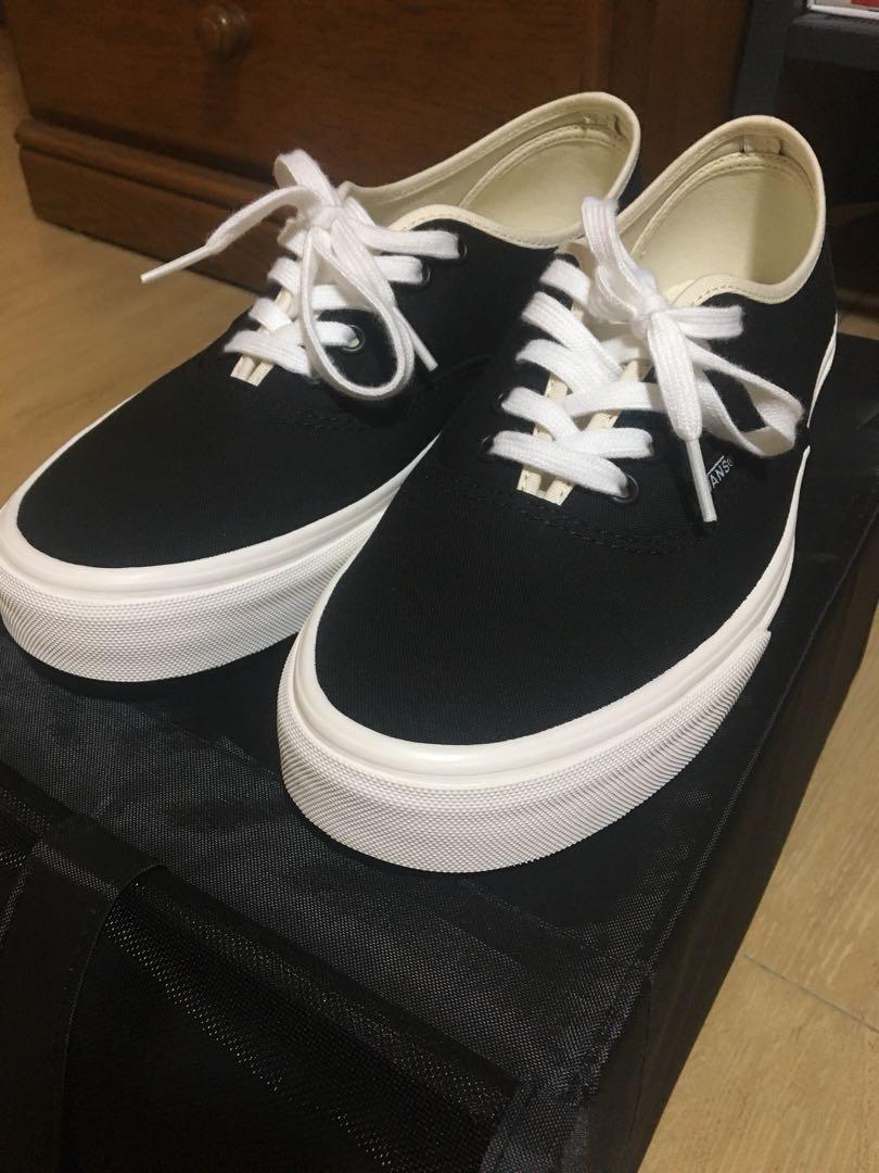 Vans Classic Authentic Black Bone, Men