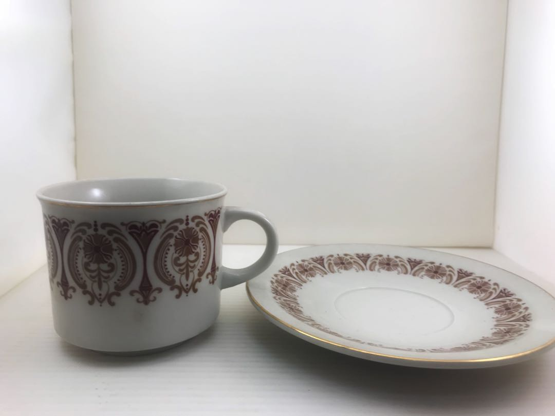 a29e449f848 Vintage Coffeeshop Ceramic Coffee Cup set (6)