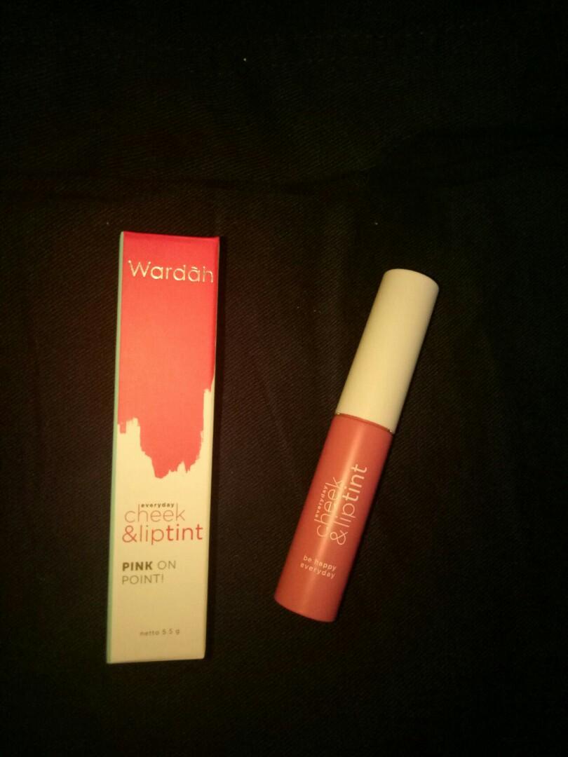 Wardah Cheek Liptint No 3 Health Beauty Makeup On Carousell New