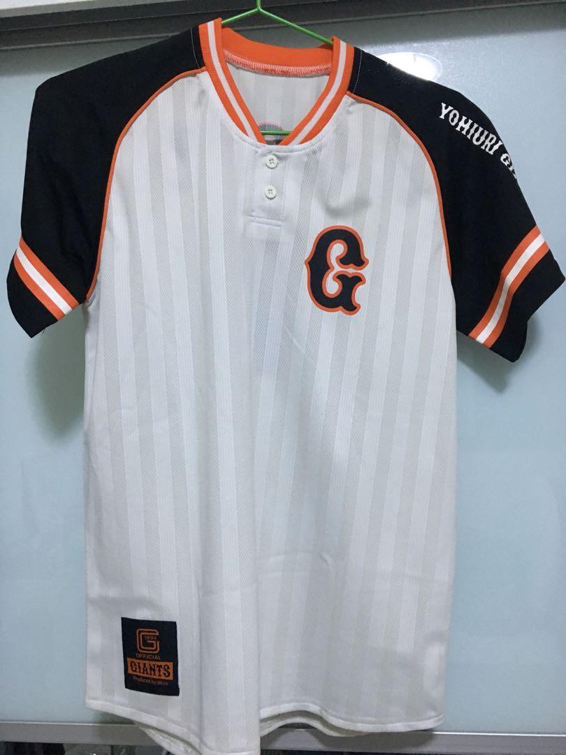 96b4bd03a1de4 Yomiuri Giants Baseball Jersey, Men's Fashion, Clothes, Tops on ...