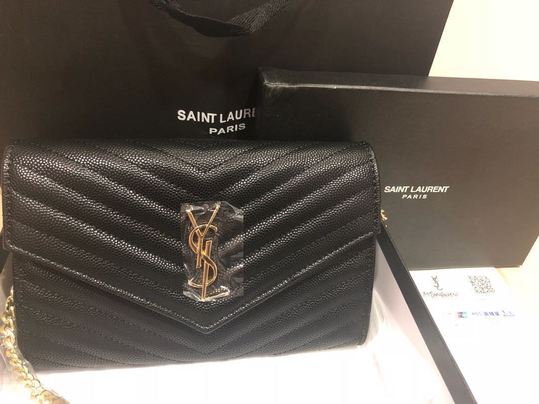 76ec7e59dae8 YSL WOC WALLET ON CHAIN   SLING BAG