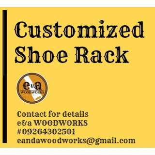 Customized Shoe Rack