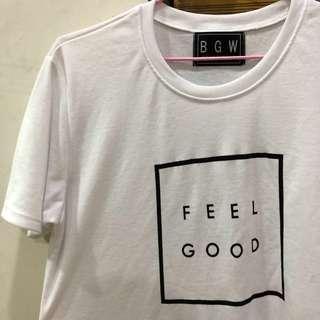 """🚚 """"FEEL GOOD"""" white TOP"""