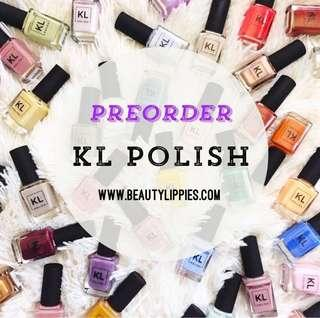 💓HERE WE ARE!!! KL POLISH IS ON SITE NOW✨✨💓READY TO PREORDER YOUR!😉