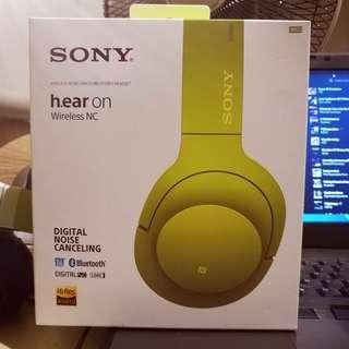 Sony MDR 100Abn wireless noise cancelling headphones