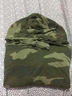 GARAGE longsleeve cropped hoodie