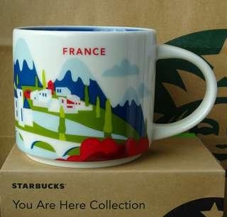 Starbucks City Mug Cup You are here Series YAH France 14oz N…