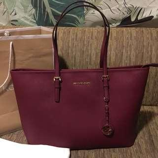 Orinigal MK Jet Set Large Maroon