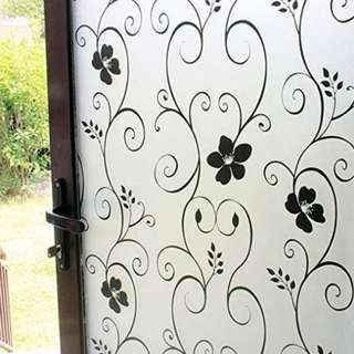 Privacy Glass Film Frosted Window Sticker  Anti-UV Film