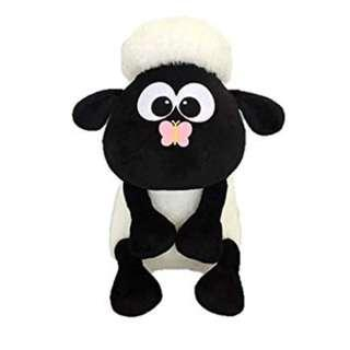 LAST PC - SHAUN THE SHEEP - BUTTERFLY ON NOSE PLUSH - JAPAN