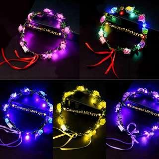 LED Tiara FAST DEAL PRICE (available Pink, Yellow, Blue, Purple)