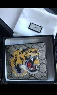 Gucci Wallet in tiger print